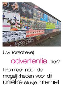 Uw (creatieve_ advertentie hier? Informeer naar de mogelijkheden voor dit unieke stukje internet.